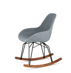 Diamond Dimple Pop Rocker Chair by Kubikoff