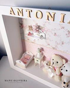Quadro Porta de Maternidade Antonia http://www.ateliermanuoliveira.com.br/
