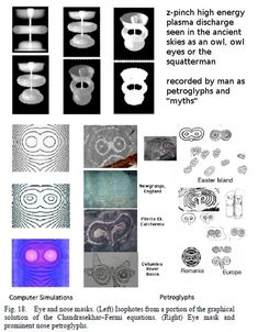 A page about plasma discharge forms and how they appear to the human eye. Ancient Aliens, Ancient Art, Ancient History, Maths In Nature, Electric Universe, Mysteries Of The World, The Birth Of Venus, Creepy Facts, Owl Eyes