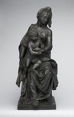 Madonna and Child. Niccolò Roccatagliata (Italian, born Genoa, active 1593–1636). Date: early 17th century. Culture: Italian (Venice). Medium: Bronze.