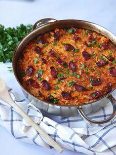 Arroz de Frango no Forno Portuguese Recipes, Paella, Beef Recipes, Ethnic Recipes, Food, Rice Recipes, Dishes, Ideas, Cuisine