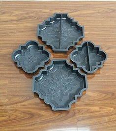Concrete Paving, Concrete Art, Concrete Garden, Garden Slabs, Garden Paths, Pavers Ideas, Brick Molding, Brick Flooring, Patterns In Nature