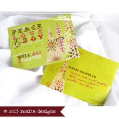 custom photo christmas card, holiday card #postcard #addresses #graphic #text #fonts #grunge #alternative #trees #lime green #pink