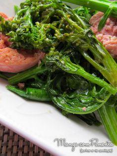 Brócolis com Lingüiça