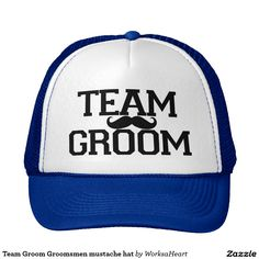 Team Groom Groomsmen mustache hat c5a0d9d87ae