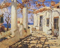Konstantin Gorbatov (Russian, 1876-1945) - Italian House, 1926