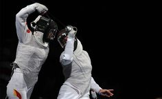 Esgrima olímpica femenina - Fotos - The Big Picture - Boston.com