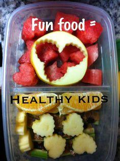 Fun food = Health Kids