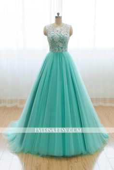 Custom Elegant White Lace High neck Mint Green Tulle A Line Lace Formal Long Evening Prom Dress Party Bridesmaid homecoming Ball gown by Everisa on Etsy https://www.etsy.com/listing/206670686/custom-elegant-white-lace-high-neck-mint