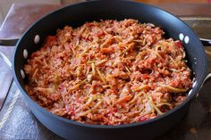 Lightened Up One-Pan Cabbage and Ground Turkey Skillet