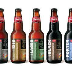 Well designed Beer labels