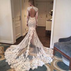 BERTHA Collection: Costura y diseño para tu boda. Vestidos de novia que son pura magia. #BodasColombia