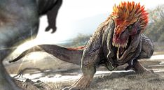 With Jurassic World coming out next week, I thought I'd teach you all about feathered dinosaurs and why they're awesome Prehistoric World, Prehistoric Creatures, Dinosaur Background, Jurrassic Park, Feathered Dinosaurs, Dinosaur Wallpaper, Dinosaur Pictures, Dinosaur Art, Dinosaur Crafts