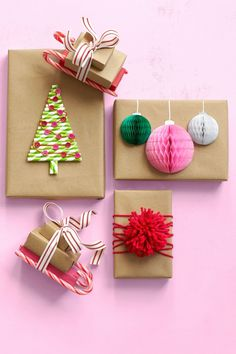 wrapping/writing/drawing 60 DIY Homemade Christmas Gifts - Craft Ideas for Christmas Presents Diy Ugly Christmas Sweater, Christmas Gifts For Boyfriend, Christmas Crafts For Gifts, Christmas Gift Wrapping, Homemade Christmas, Christmas Presents, Christmas Diy, 40 Diy Gifts, Craft Gifts