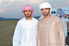 Dubai — His Highness Sheikh Majid bin Mohammed bin Rashid Al Maktoum and His Highness Sheikh Hamdan bin Mohammed bin Rashid Al Maktoum in Africa. ♥ REPIN, LIKE, COMMENT & SHARE! ♥