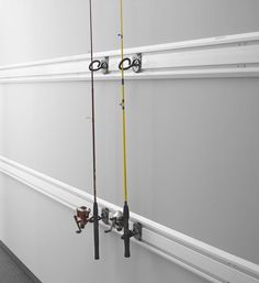 Features:  -Holds up to 20 lbs per pair of hooks.  -Install on GearTrack or GearWall, easily reposition without tools.  -Lifetime Limited Warranty.  -Hook diameter (Small to hold fishing rod tip): 1.2