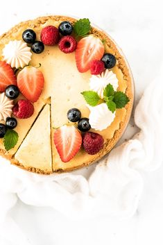 Rýchle sušienky z ovsených vločiek - Cookies recept - Lenivá Kuchárka Fruit Cheesecake, Healthy Cheesecake, Cheesecake Decoration, Fruit Photography, Cheesecakes, Eat Cake, Baked Goods, Cake Decorating, Smoothie