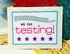 Shhhh we are testing. **