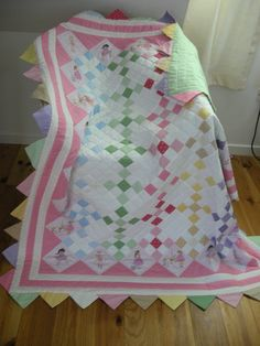Made this with love and care for my little grandaughter Evalyn by Ann Skipper