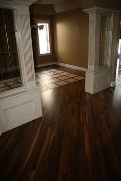 Site finished Walnut - Hatton's Hardwood Floors