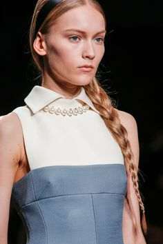 Pearl Necklace  @ Valentino Fall Winter 2013 #pfw Paris #Fashion Week