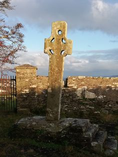 The Cooley Cross and Skull House is an ancient monastic site which can be found on the hill behind the town of Moville. Small Buildings, Donegal, Pagan, Worship, Entrance, Skull, Activities, House, Entryway