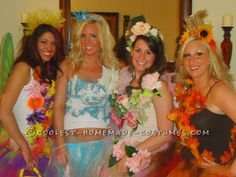 The Four Seasons Girl's Group Costume ...This website is the Pinterest of costumes