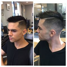 Men's haircut 2014 new style, hardpart, corte de hombre
