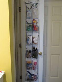 put on hallway door