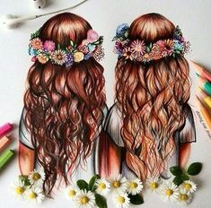 Best Friend Drawings That Are Easy To Draw Accessible Tips Bff Pictures To Draw Cute Best Friend Drawings, Cute Easy Drawings, Girly Drawings, Drawings Of Friends, Summer Drawings, Best Friend Pictures, Bff Pictures, Pictures To Draw, Best Friends Cartoon