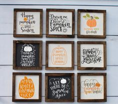They look so cute sitting on a shelf on mantel Halloween Home Decor, Fall Home Decor, Fall Halloween, Halloween Decorations, Halloween Crafts, Happy Pumpkin, Pumpkin Spice, Fall Crafts, Diy Crafts