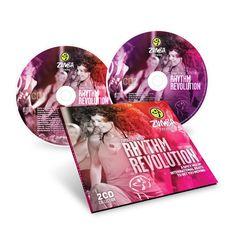 ZUMBA Fitness Rhythm Revolution 2 CD Collection Set MUSIC SOUNDTRACK Spicy Mix #BachataCumbiaFlamencoLatinPopMerengueReggaetonSalsaSamba
