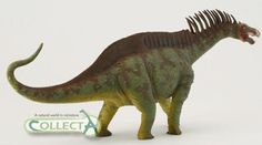 The marvellous Collecta 1:40 scale model of Amargasaurus.