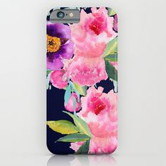 Buy Floral blue by Craftberrybush as a high quality iPhone & iPod Case. Worldwide shipping available at Society6.com. Just one of millions of products…