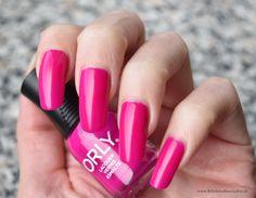 ORLY nail polish - Purple Crush - purple neon