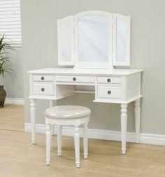 Frenchi Home Furnishing Vanity Set, White Frenchi Home Furnishing http://www.amazon.com/dp/B00I38QM7Q/ref=cm_sw_r_pi_dp_-c0bub1K0SEVZ