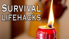 Here are some AMAZING quick and simple life hacks in this survival edition. Enjoy! Check out AUDIBLE! http://audible.com/household 1. Need some light in a pi...