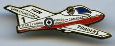 Saskatchewan Pin Traders - Snowbirds - Plane 1