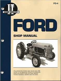 Brakes on ford ford tractor repair pinterest ford tractors ford tractor repair manual models 2n 8n 9n fandeluxe Image collections