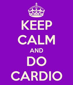 Don't forget: Cardio helps with muscle soreness!