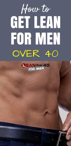 Healthy Man How to Get Lean for Men Over 40 - Lean Over 40 For Men - I strongly believe that getting lean for men over 40 is all about balance. If you're in your or older you might remember the scene in the film Karate Kid where Mr Miyagi tells Life Fitness, Fitness Motivation, Weight Loss Motivation, Mens Fitness, Muscle Fitness, Fitness Goals, Fitness Workouts, Lean Body Workouts, Lean Body Men