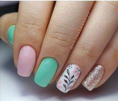 Pretty Toe Nails, Love Nails, My Nails, Disney Acrylic Nails, Long Acrylic Nails, Pink Nail Art, Pink Nails, Nail Tip Designs, Summer Gel Nails