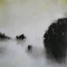 Birgit Zartl *  Five Days On Water  oil and mixed media on paper