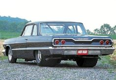 '63 Chevy Pro-Street. His tires cost more that my car!