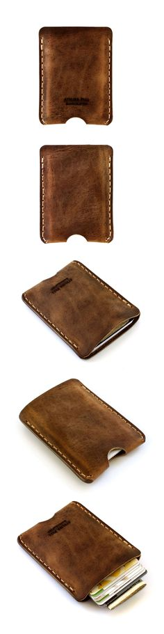 classic card wallet by AtelierPall.com