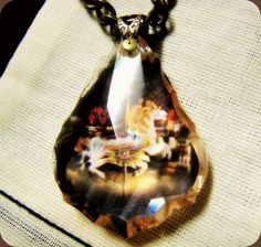 Fragments of Time - Vintage Chandelier Crystal necklace.    by Jennifer Fields www.etsy.com/shop/Romantiquity