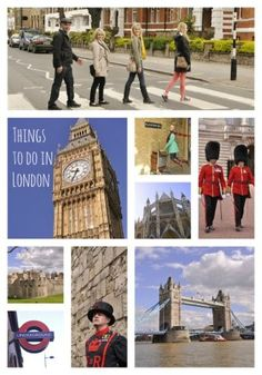 Things to do in London!