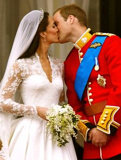 April 29, 2012 marks the one year anniversary of Kate, Duchess of Cambridge and Prince William, Duke of Cambridge. Happy Anniversary!