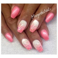 Cotton Candy Nails by MargaritasNailz from Nail Art Gallery