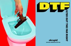 OKCupid enlists the artists behind ToiletPaper for new ads   Wallpaper*